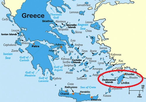 map of rhodes greece island The Island Of Rhodes Uncecomp 2017 2nd International map of rhodes greece island